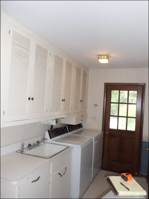 Brookfield Laundry Room Remodel Before