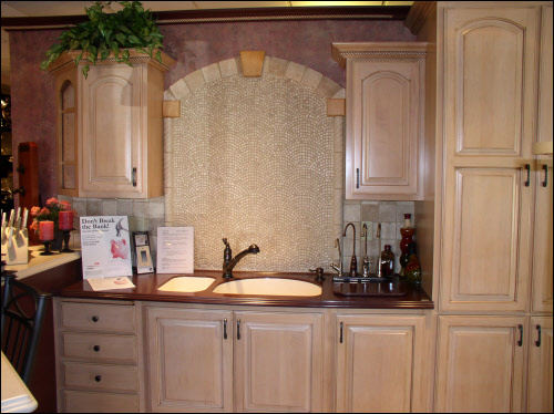 Waukesha Kitchen Installation with Custom Corrian Counter Top