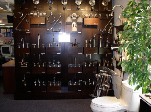 Kohler Faucets at Brookfield Kitchen and Bath Remodeling Showroom