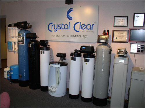 Crystal Clear Water Softners and Filters for Waukesha Pump and Plumbing installations