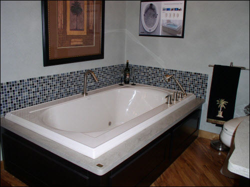 Milwaukee Bathroom Remodeling Installation Kohler Bubble Massage Tub with Chromatherapy