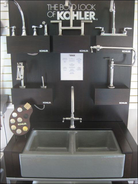 Kohler Sink & Faucets Options at Brookfield Showroom